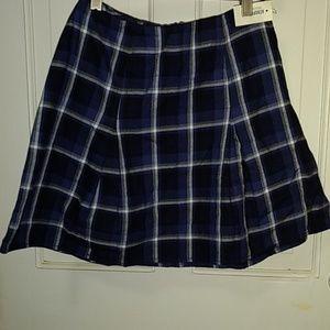 Aeropostale Skirts - Aeropostale Bethany Moda plaid skirt NWT